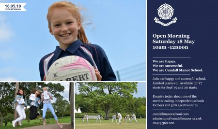 Open Morning // Sat 18 May