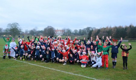 Santa Run raises festive cheer and funds for two great causes